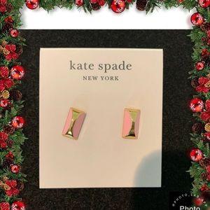 Kate Spade New York Sliced Scallop Stud Earrings